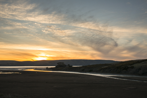 point reyes sunset
