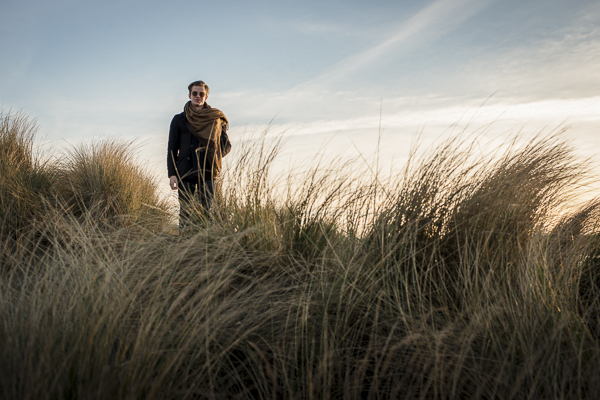 William Bowerman Drummer in the dunes