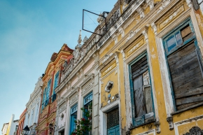 pelourinho buildings Brazil