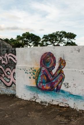 street art itacare brazil