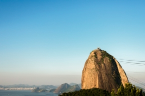 pao de acucar at sunset