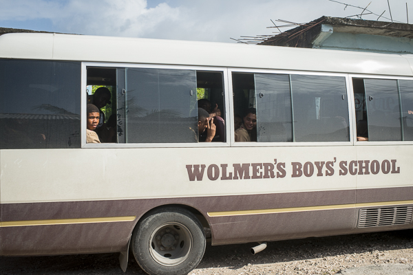 school bus jamaica