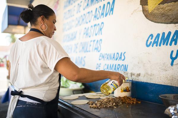 taco lady