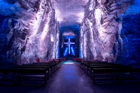 underground salt church