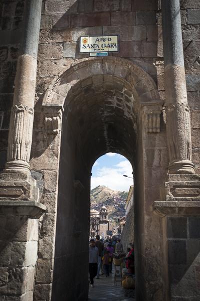 architecture of cusco