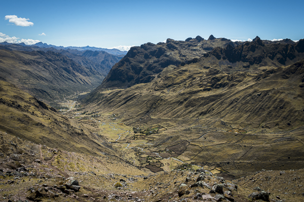 view of lares from above