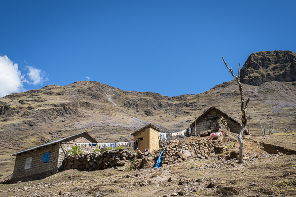 peruvian mountain home
